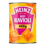 Clearance Line Heinz Beef Ravioli In Tomato Sauce 400g ***DENTED CAN***