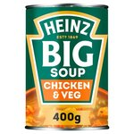 Clearance Line Heinz Big Soup Chicken And Vegetable 400g