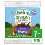 Clearance Line Heinz Chocolate Biscotti 60g 7 Month