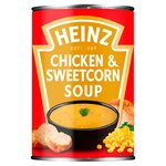 Clearance Line Heinz Classic Chicken and Sweetcorn Soup 400g