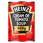 Clearance Line Heinz Cream Of Tomato Soup 400g ***DENTED TINS PRODUCT FINE***