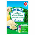 Clearance Line Heinz Multigrain with Cauliflower Broccoli and Cheese 125g **OUTER PACKAGING DAMAGED