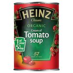 Clearance Line Heinz Organic Cream Of Tomato Soup 400g
