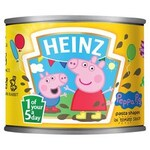 Clearance Line Heinz Peppa Pig Pasta Shapes 205g