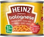 Clearance Line Heinz Spaghetti Bolognese 200g