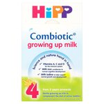 Clearance Line Hipp 2 Years Combiotic Growing Up Milk Stage 4 600g ***DAMAGED OUTER CARDBOARD PRODUCT FINE***