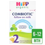 Clearance Line Hipp 6 month Stage 2 Organic Combiotic Follow On Milk 800g ***DAMAGE TO OUTER CARDBOARD - PRODUCT FINE***