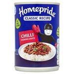 Clearance Line Homepride Chilli Cooking Sauce 400g ***SLIGHTLY DENTED CAN PRODUCT FINE***