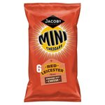 Clearance Line Jacobs Mini Cheddars Red Leicester 6 Pack