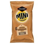 Clearance Line Jacobs Mini Cheddars Smoked Cheddar 6 Pack