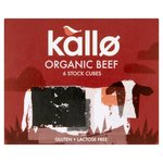 Clearance Line Kallo Organic Beef Stock Cubes x 6