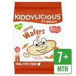 Clearance Line Kiddylicious Carrot Wafers 10 x 4g