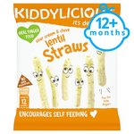 Clearance Line Kiddylicious Sour Cream And Chive Lentil Straws 12g