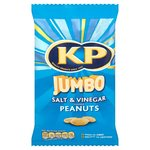 Clearance Line KP Jumbo Salt and Vinegar Peanuts 180g ***SHORT DATED 25/02/17***
