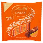 Clearance Line Lindt Lindor Orange Milk Chocolate Bars 4 Pack