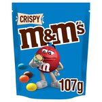 Clearance Line M&Ms Crispy Pouch 107g ***EXPIRY 15 AUGUST 2021***