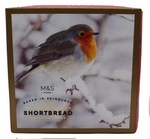Clearance Line Marks and Spencer All Butter Scottish Shortbread Petticoat Tails 450g Robin Box