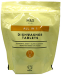 Clearance Line Marks And Spencer All in 1 Dishwasher Tablets 20 Pack