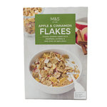 Clearance Line Marks and Spencer Apple and Cinnamon Flakes 375g