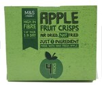 Clearance Line Marks and Spencer Apple Fruit Crisps 4 x 16g packs