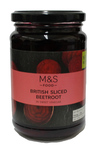 Clearance Line Marks and Spencer British Sliced Beetroot in Sweet Vinegar 340g