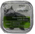 Clearance Line Marks and Spencer Complete Fine Terrine Tender Lamb Dinner 100g