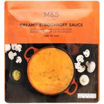 Clearance Line Marks and Spencer Creamy Stroganoff Sauce 200g