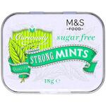 Clearance Line Marks and Spencer Curiously Strong Sugar Free Mints 18g Tin