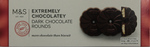 Clearance Line Marks and Spencer Extremely Chocolatey Dark Chocolate Rounds 150g