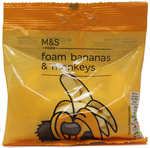 Clearance Line Marks and Spencer Foam Bananas and Monkeys 65g