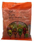 Clearance Line Marks and Spencer Fruity Jelly Beans 70g