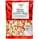 Clearance Line Marks and Spencer Full On Flavour Ready Salted Potato Rings 100g