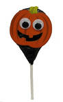 Clearance Line Marks and Spencer Halloween Pumpkin Monster Chocolate Lollipop 28g