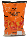 Clearance Line Marks and Spencer Halloween Vampire Fangs Corn Puffs 110g