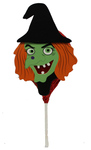 Clearance Line Marks and Spencer Halloween Witch Chocolate Lollipop 28g