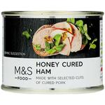 Clearance Line Marks and Spencer Honey Cured Ham 200g ***DENTED TIN PRODUCT FINE***