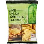 Clearance Line Marks and Spencer Lime Salsa Tortilla Scoops 150g
