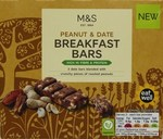 Clearance Line Marks and Spencer Peanut and Date Breakfast Bars x 3