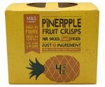 Clearance Line Marks and Spencer Pineapple Fruit Crisps 4 x 16g packs