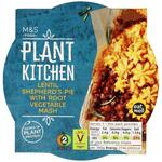 Clearance Line Marks and Spencer Plant Kitchen Lentil Shepherds Pie with Root Vegetable Mash 300g