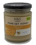 Clearance Line Marks and Spencer Pure Set Honey 340g