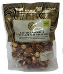 Clearance Line Marks and Spencer Salted Caramel and Chocolate Nut Selection 220g pouch