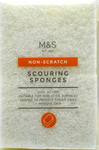 Clearance Line Marks and Spencer Scouring Sponge with Non Scratch Surface