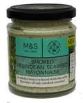 Clearance Line Marks and Spencer Smoked Hebridean Seaweed Mayonnaise 160G jar