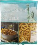 Clearance Line Marks and Spencer Sour Cream and Chive Pretzels 150g