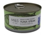 Clearance Line Marks and Spencer Tuna Steak in Sunflower Oil 200g