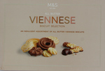 Clearance Line Marks and Spencer Viennese Biscuit Selection 455g