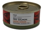 Clearance Line Marks and Spencer Wild Alaskan Red Salmon Skinless and Boneless 105g