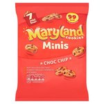 Clearance Line Maryland Cookies Mini Chocolate Chip 7 pk