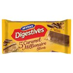 Clearance Line McVities Digestives Caramel Slice 5 Pack